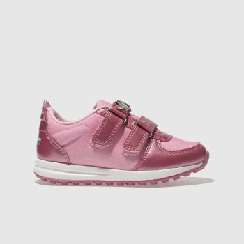 LELLI KELLY PINK COLOURISSIMA TRAINERS TODDLER