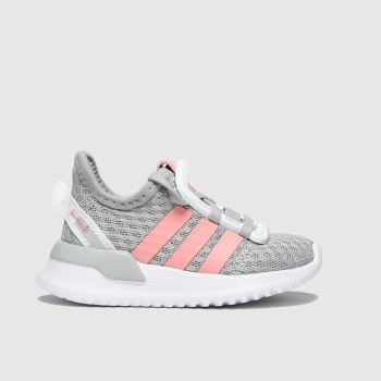 adidas Light Grey U_path Run Girls Toddler