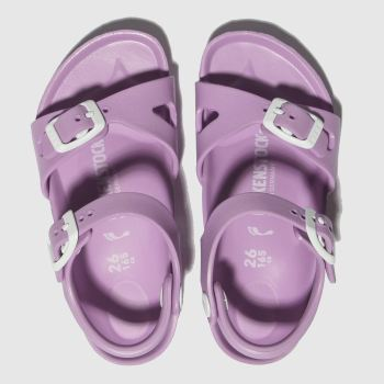 Birkenstock Lilac Rio Eva Girls Toddler