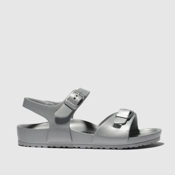 Birkenstock Silver RIO EVA Girls Toddler