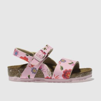 Birkenstock Pink Isabella Girls Toddler