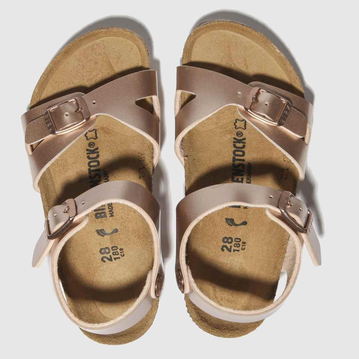 Birkenstock Bronze Rio Sandals Toddler