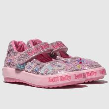 8c133462d7ceb Girls pink lelli kelly summer baby dolly shoes | schuh