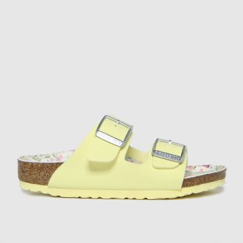 BIRKENSTOCK Lemon Arizona Vegan Girls Toddler