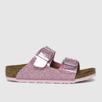BIRKENSTOCK Pale Pink Arizona Girls Toddler