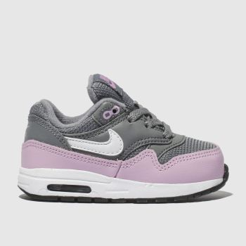 Nike Grey Air Max 1 Girls Toddler
