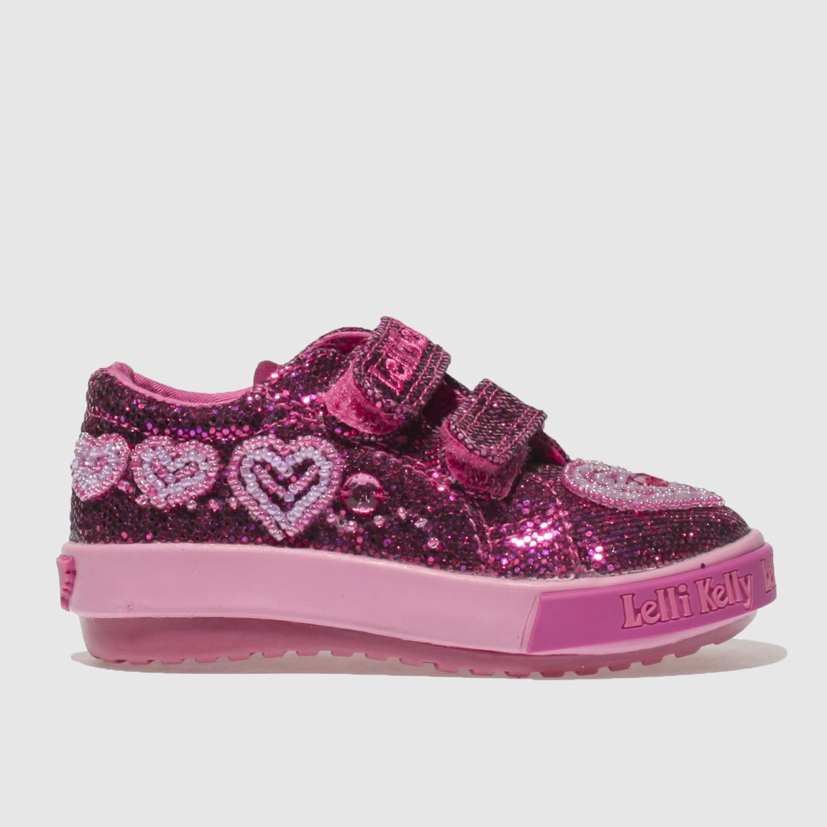 Lelli Kelly Pink Ava Baby Velcro Trainers Toddler