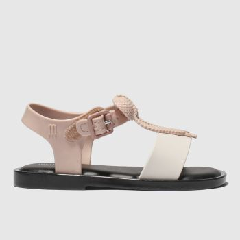 Melissa Pale Pink Mar Lace Sandal Girls Toddler