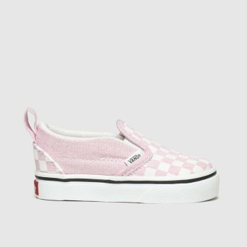Vans Pink Slip-On Girls Toddler