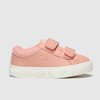 Lacoste Pink Straightset Girls Toddler