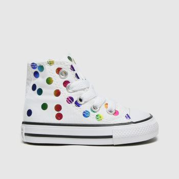 Converse Multi Hi Confetti Girls Toddler