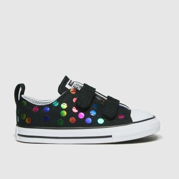 Converse Multi 2v Lo Confetti Girls Toddler