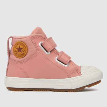 Converse Pale Pink Berkshire Boot 2v Girls Toddler