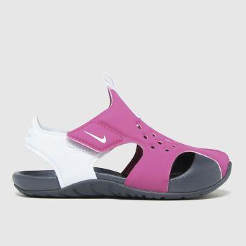 Nike Pink Sunray Protect 2 Girls Toddler
