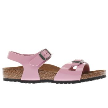 BIRKENSTOCK PALE PINK RIO GIRLS TODDLER SANDALS