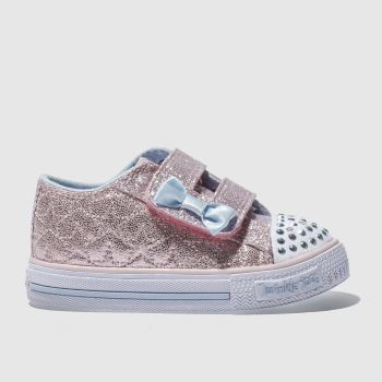 Skechers Pink Twinkle Toes Starlight Girls Toddler