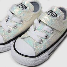 Converse All Star 1v Lo Glitter 1