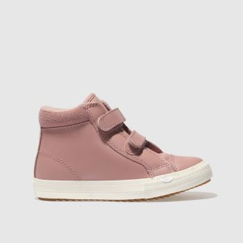 Converse Pink All Star Hi 2v Pc Girls Toddler