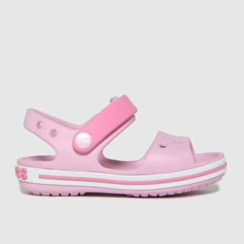 crocs Purple Crocband Girls Toddler
