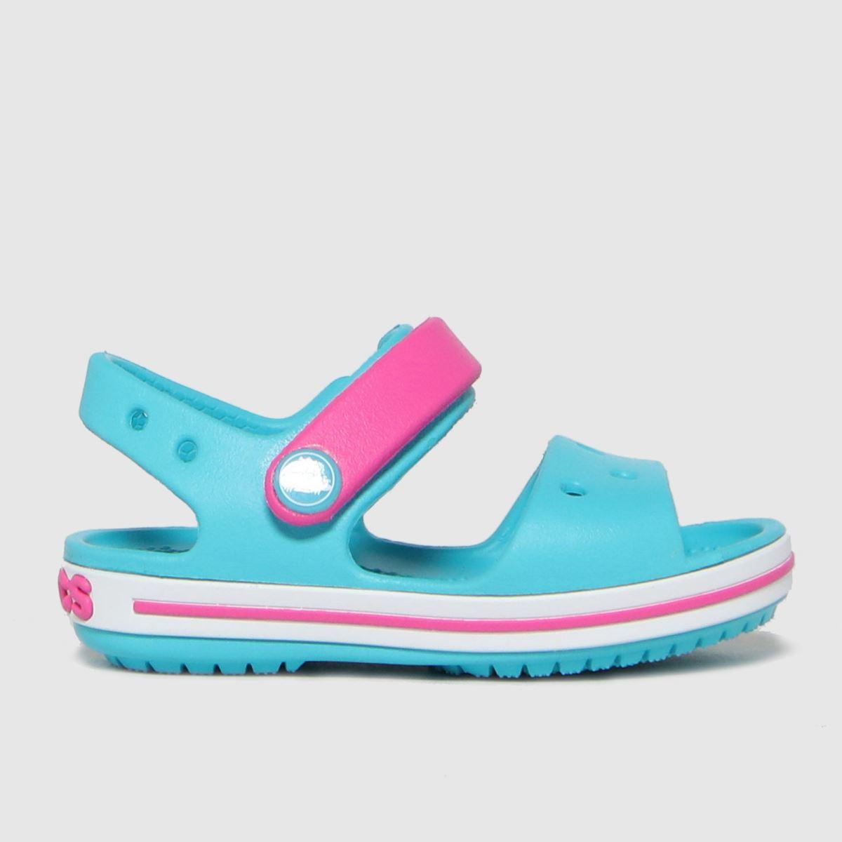 Crocs Turquoise Crocband SANDAL Toddler
