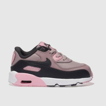 NIKE PINK AIR MAX 90 TRAINERS TODDLER 3d67cecaf