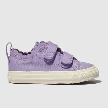 Converse Purple All Star 2v Lo Girls Toddler