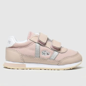 Lacoste Pale Pink Partner Girls Toddler