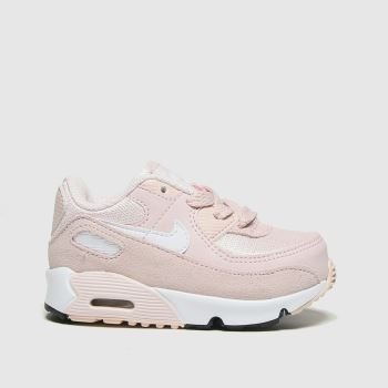 Nike Pale Pink Air Max 90 Girls Toddler