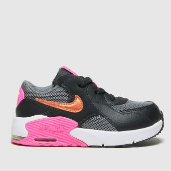 Nike Dark Grey Air Max Excee Girls Toddler