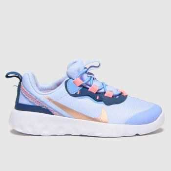 Nike Pale Blue Renew Element 55 Girls Toddler#