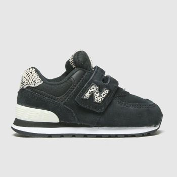 New balance Black Nb 574 2v Girls Toddler