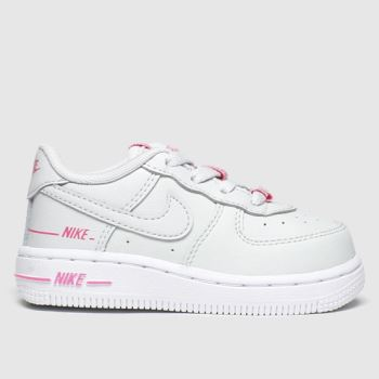 Nike Light Grey Air Force 1 Lv8 3 c2namevalue::Girls Toddler