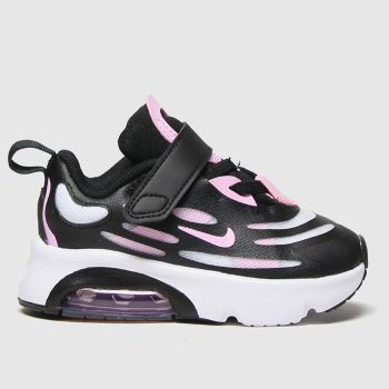 Nike Black & White Air Max Exosense Girls Toddler