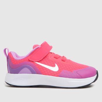 Nike Pink Wearallday Girls Toddler