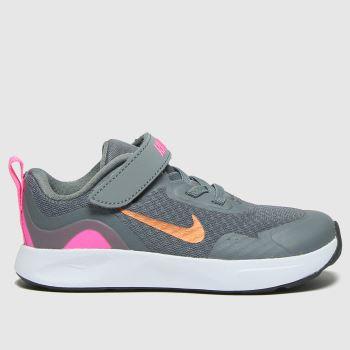 Nike Grey Wearallday Girls Toddler