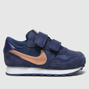 Nike Navy & Gold Md Valiant Girls Toddler