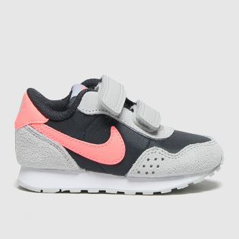 Nike Grey & Black Md Valiant Girls Toddler