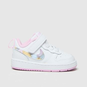 Nike White Court Borough Low 2 Girls Toddler