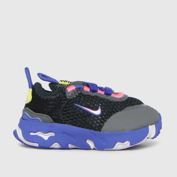 Nike Black and blue React Live Girls Toddler