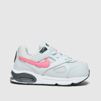 Nike Light Grey Air Max Ivo Girls Toddler