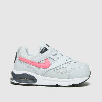 Nike Light Grey Air Max Ivo Girls Toddler#