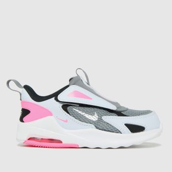 Nike Light Grey Air Max Bolt Girls Toddler