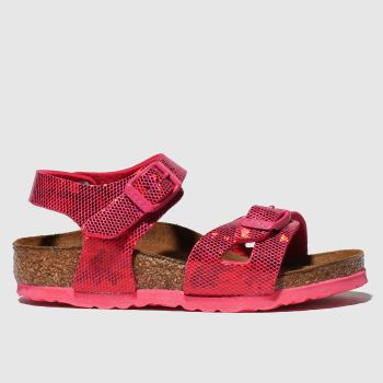Birkenstock Pink Rio Girls Toddler