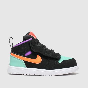 Nike Jordan Multi Air Jordan 1 Mid Girls Toddler