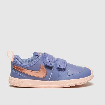 Nike Blue Pico 5 2v Girls Toddler