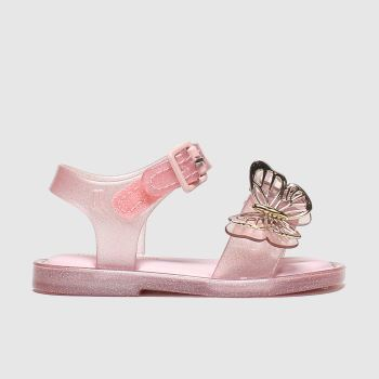 Melissa Pink Sandal Butterfly Girls Toddler