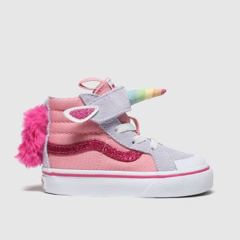 Vans Multi Sk8-hi Reissue V Girls Toddler#