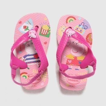 Havaianas Pink Baby Peppa Pig Girls Toddler