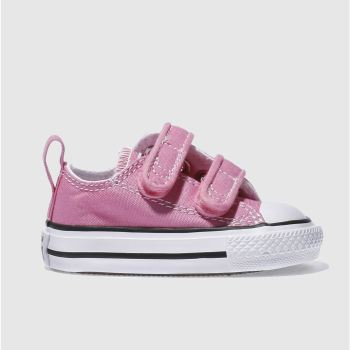 c4a3a0fea2ce Converse Pink All Star Ox 2V Girls Toddler