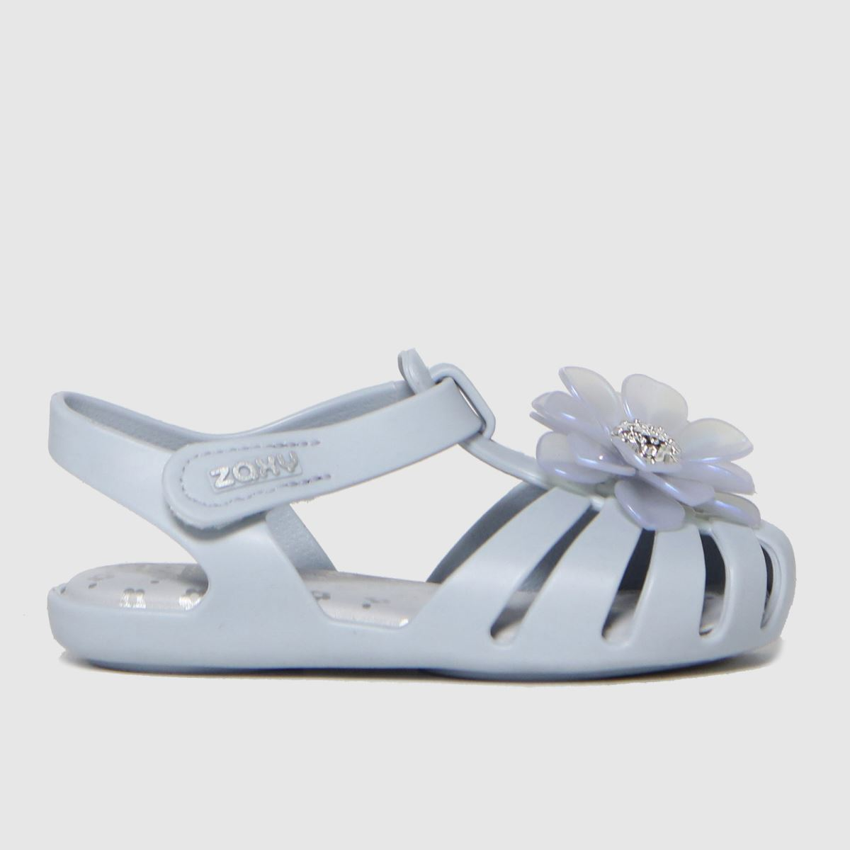 Zaxy Pale Blue Baby Flower Party SANDAL Toddler